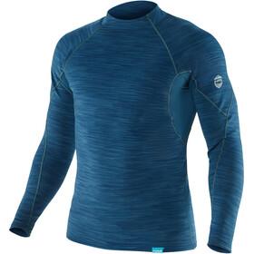NRS HydroSkin 0.5 Long Sleeve Shirt Herre moroccan blue